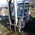Chariot frontal diesel sur Vinay : Chariot frontal diesel Manitou MSI 25 D 335