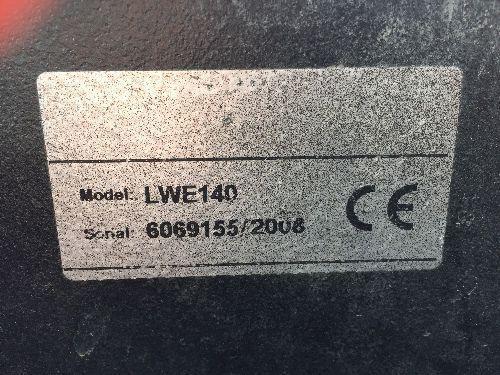 Transpalette éléctrique LWE140 - 1680