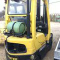 Chariot frontal gaz sur Vinay : Chariot Frontal Gaz Hyster H18FT - 0862