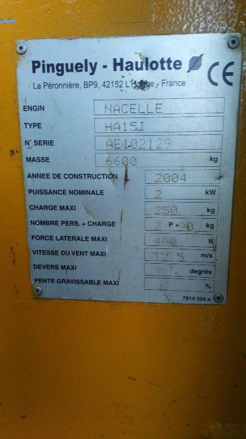 NACELLE ELECTRIQUE ARTICULEE HAULOTTE HA15I - 1396