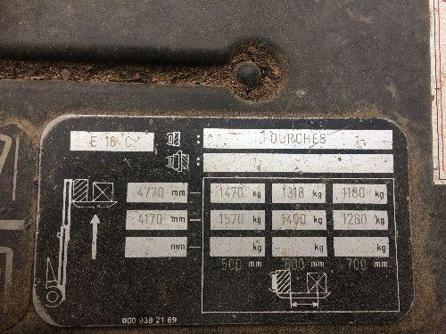 Frontal Electrique Fenwick E16 - 000397