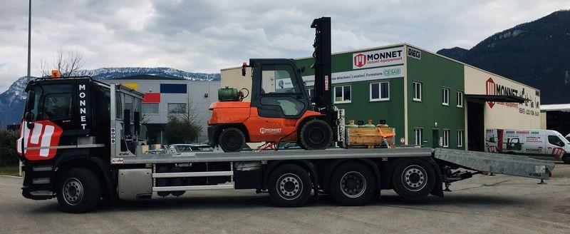 Nouveau camion = Nouveaux Horizons !