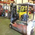 Chariots éléctriques à 3 roues sur Vinay : Chariot frontal electrique Toyota 7FBEF18 - 003393