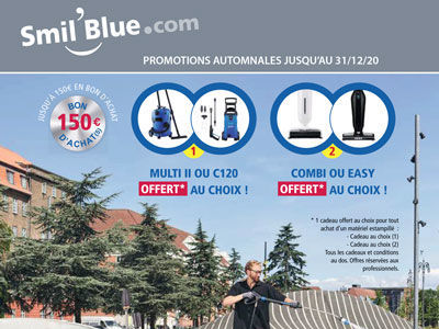 Promotions NILFISK gamme nettoyage professionnel
