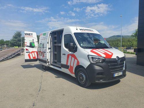Nouveau camion pour le SAV !!!